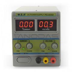 Εργαστηριακό τροφοδοτικό παγκου μεταβλητής τάσης 0-60V 0-5A