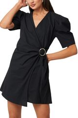 Rut & Circle Belle μίνι φόρεμα μαύρο - 20-02-88
