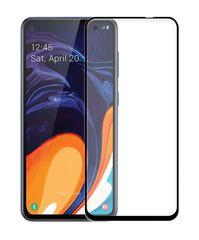 POWERTECH Tempered Glass 5D Full Glue, Samsung A60 2019, μαύρο