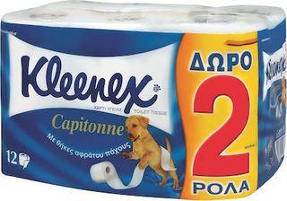 Kleenex Χαρτί Υγείας Capitonne 12 Ρολά