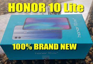 120€ Huawei HONOR 10 Lite 64GB ROM 6,21'' ΙΝΤΣΕΣ 13MP CAMERA Dual Sim 3GB RAM ΟΚΤΑΠΥΡΗΝΟ καινούριο BEST PRICE !! Διαθέσιμο