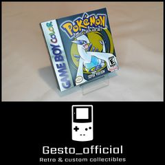 Pokemon Silver Gameboy Color custom box Gesto_official
