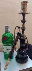 Ναργιλές και μπουκάλι Gin 3 lt διακοσμητικο