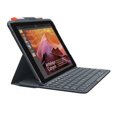 Logitech - Slim Folio Bluetooth tablet cover with keyboard NORDIC / Electronics