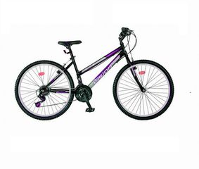 Umit Warriors '21 Ποδήλατο mountain VENUS 26'' ίντσες Μαυρο-Μωβ με 21 ταχύτητες·Τύπος:Unisex