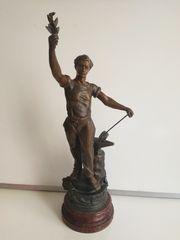 """Γαλλικό μπρούτζινο άγαλμα """"Travail"""""""