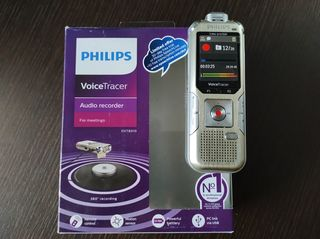 Philips DVT8010 VoiceTracer Digital Voice Recorder with Boundary Layer Microphone