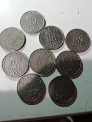 Mεγάλη συλλογή από παλιά νομίσματα