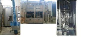 Εμφιαλωτική PROCOMAC για πλαστικές (PET) φιάλες - 7502001