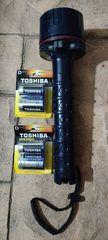 Φακός toshiba 6 volt 4 watt