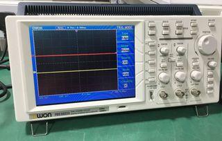 Ψηφιακός έγχρωμος παλμογράφος 25Mhz
