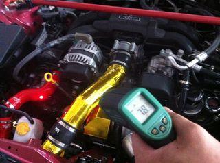 Anti Hot Reflexion Heat Gold Tape for Air intake Pipe System JDM HONDA BMW VW AUDI SUBARU SKYLINE SUPRA