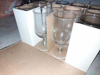 12 τεμάχια καινούργια ποτήρια γυάλινα ποτού