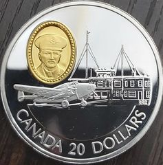 20$ Canada 1993 Proof 31.1g .925 SILVER