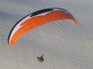 Αεράθλημα παραμοτέρ '14 APCO FORCE Reflex wing + Reserve parachute
