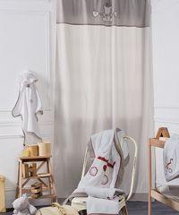 Κουρτίνα Βρεφική Με θηλιές Baby Arturo Cotton Kentia (140x270) 1Τεμ