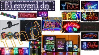 Eπιγραφές LED σε όλα τα μεγεθη και χρωματα απο 10 ευρω!!!!!