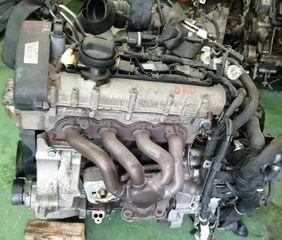 ΚΙΝΗΤΗΡΑΣ  VW  BAD  1598cc/110HP/4Cyl./ΒΕΝΖΙΝΗ  VW  GOLF IV <1J1,1J5>  1.6 FSI (01/2002-06/2006) - BORA <1J2,1J6>  1.6 FSI (01/2002-05/2005)  ΚΩΔ. BAD