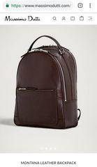 Massimo Dutti αυθεντική backpack ΑΝΔΡΙΚΗ