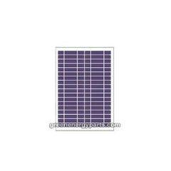 12V Ηλιακό πάνελ High Tech φόρτισης μπαταρίας 30W πλαίσιο αλουμινίου