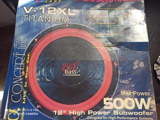"""BM Boschmann 12 """"Subwoofer 500W"""" RIOT OF BASS"""