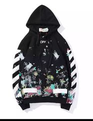 Off white with hood