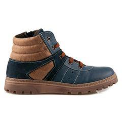 Adam's Shoes Μποτάκια Μπλε