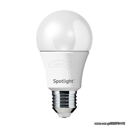 Spotlight Λαμπτήρας E27 LED 10W A60 Σε Ψυχρό Φως (6000K) Dimmable , 5529