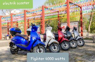 Μοτοσυκλέτα αμαξίδιο ηλεκτρικό '20 FIGHTER 4000 W 72 V 40 AH