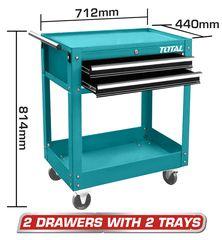 Εργαλειοφόρος - συρταριέρα TOTAL επαγγελματικός ( THPTC201 )