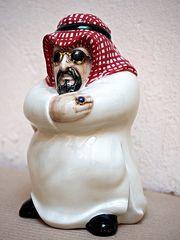 Αγαλματάκι χλιδάτος Άραβας