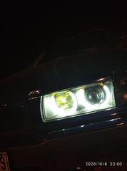 Φαναρια xenon με angel eyes  + φιμε φλασακια BMW - E36 Ευκαιρια.