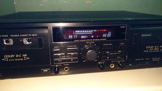 JVC TD-W308 διπλό κασσετοφωνο