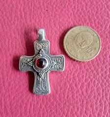 Σταυρος 925 ασημενιος αντικε