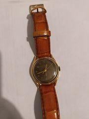 Vintage κουρδιστό χρυσό ρολόι 60's συλλεκτικό