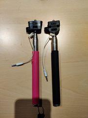 Selfie Sticks Μαύρο - Ροζ