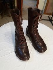 U.S. Army Paratrooper Boots and British Army Ankle Boots