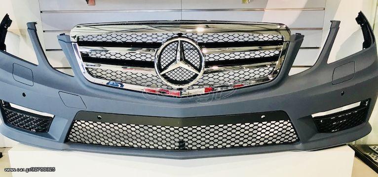 Μάσκα Για Mercedes-Benz E-Class W212 2009-2013 AMG Look (CAR20493)