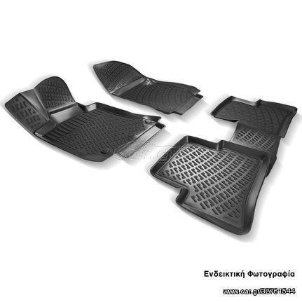 Πατάκια Σκαφάκια 3D Για Mercedes-benz C-Class W202 1992-2000 RL117080 Μαύρα Rizline (CAR22372)