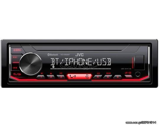Ηχοσύστημα Αυτοκινήτου Ράδιο 1-DIN με Bluetooth και USB / AUX KD-X362BT (CAR23072)
