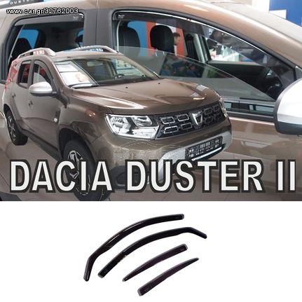 Ανεμοθραύστες Φιμε Σετ Dacia Duster II 5D 2018+  (CAR23204)