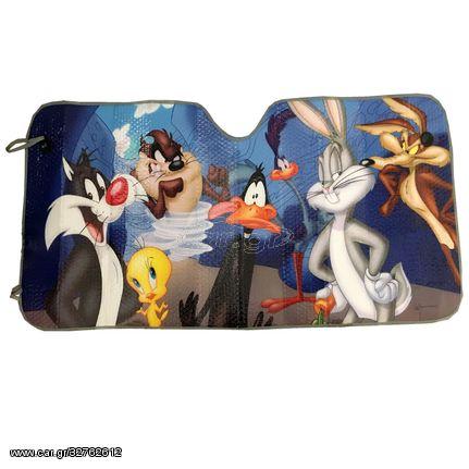 Ηλιοπροστασία Εσωτερική Παρμπρίζ Looney Tunes 60x130cm 2703031 (CAR23705)