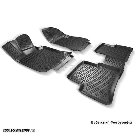 Πατάκια Σκαφάκια 3D Για Honda Civic Sedan 2011-2016 RL110120 Μαύρο Rizline (CAR24153)
