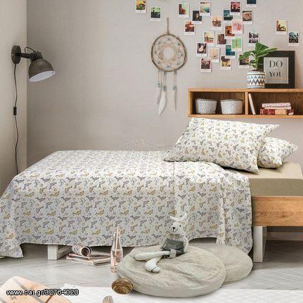 Παπλωματοθήκη Παιδική Μονή Junior Dillon Cotton Sb Concept (160x240) 1Τεμ