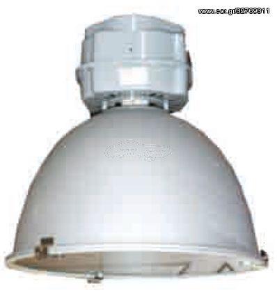 ACA Φωτιστικό Τύπου Καμπάνας Με Γυαλί Ø47 REA E40 - AC.31901G