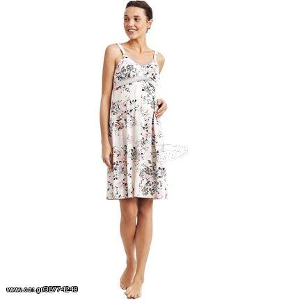 865CA - Νυχτικό Γυναικείο Εγκυμοσύνης Με Λεπτή Ράντα Catherine s