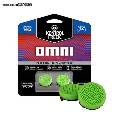 FPS Grips KontrolFreek Omni Green Caps - PS4 Controller