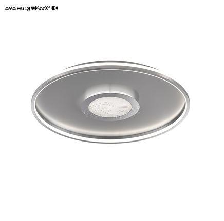 Fischer Honsel Led Πλαφονιέρα Φωτιστικό Οροφής Bug Λευκό-Αλουμίνιο Φ59 (20628)