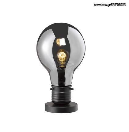 Fischer Honsel Επιτραπέζιο Φωτιστικό Louis Smoke-Μαύρο ματ Φ22 (50186)