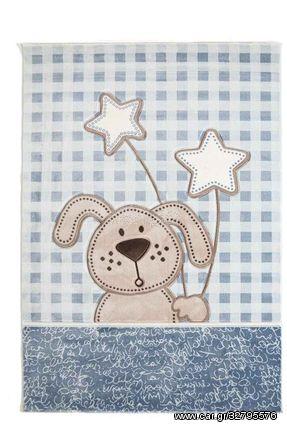 Παιδικό Χαλί Sky 6575A L.BLUE - 160x230